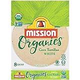 corn bread organic - Mission Foods Organics White Corn Tortillas Kosher Certified by CRC Non-GMO Project Certified Organic; Certified Gluten Free