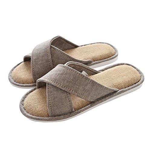 Zapatillas Inicio ZZHF Zapatillas Tamaño de 6 Opcional Temporada Zapatillas de Zapatos Algodón Piso Cuatro Inicio F Antideslizante Opcional Parejas Colores Impermeables wxnpw4HF