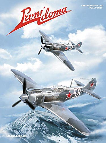 EDU01189 1:48 Eduard Prvni Doma (La-5FN and La-7) [MODEL BUILDING - Japan Doma