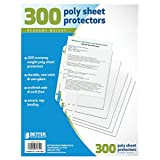 Better Office Products Sheet Protectors, 300 Count