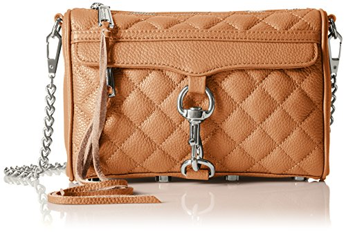 Rebecca Minkoff Quilted Mini Mac,Tan,One - Tan Bag Quilted