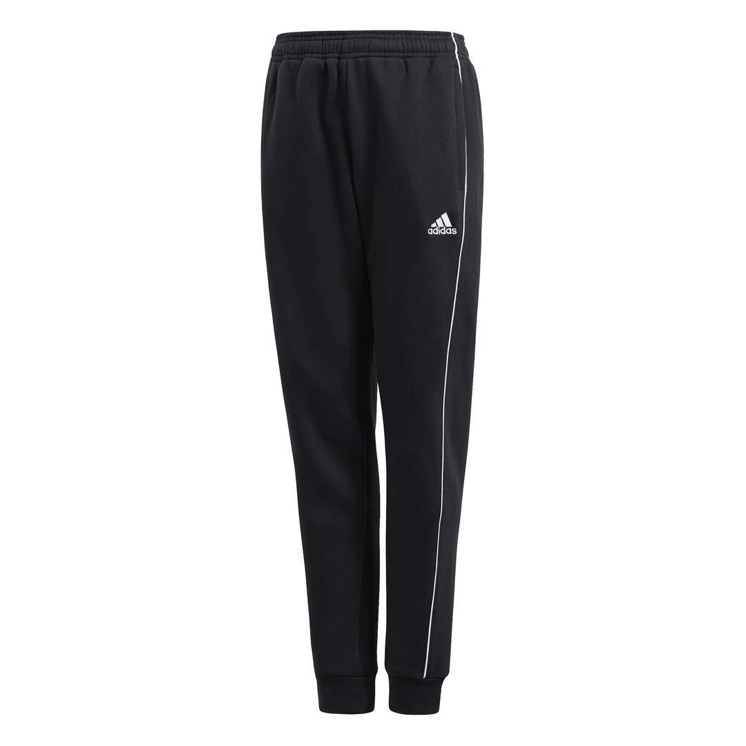 adidas Core 18 Sweat Pants, Black/White, M by adidas