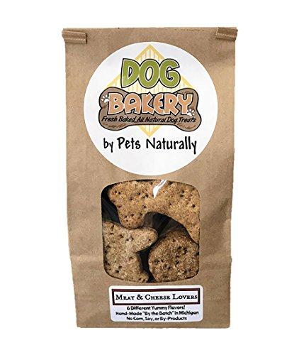 (Meat & Cheese Lovers 1lb Dog Treats All Natural Dog Bakery Treats )