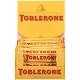 toblerone chocolates - Toblerone Milk Chocolate Bar, 1.23 Ounce (Pack of 24)