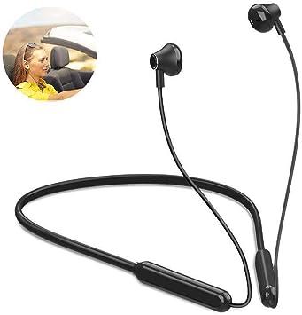 Auriculares deportivos Bluetooth con micrófono, inalámbricos, con bluetooth V5.0, para Iphone Samsung Huawei Xiaomi ... Meilo: Amazon.es: Electrónica