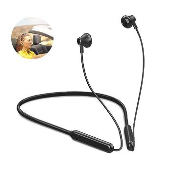 Auriculares deportivos Bluetooth con micrófono, inalámbricos, con ...