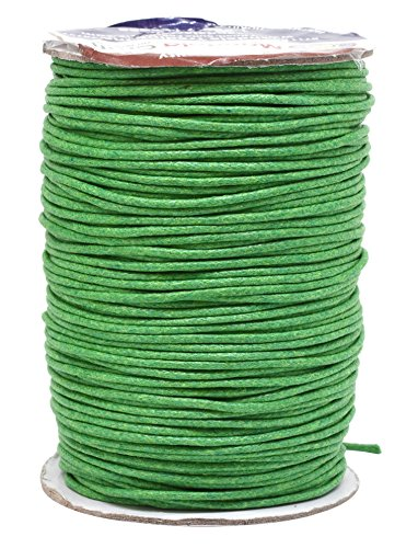 green waxed twine - 3