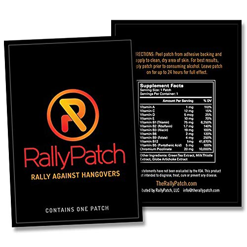 RallyPatch Natural Against Hangovers Latex Free product image
