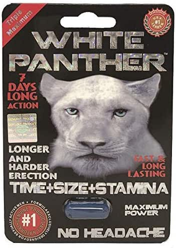 #1 White Panther Power Man Stamina Enhancement Pill (1)