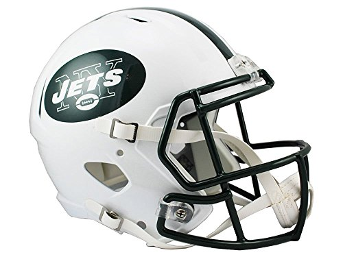 - Riddell NFL New York Jets Full Size Replica Speed Helmet, Medium, Green