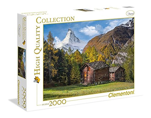Clementoni Fascination With Matterhorn Collection Puzzle 1500 Pezzi 32561