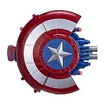 MARVEL Captain America Blaster Reveal Shield Toy Figure