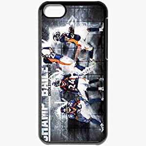 Personalized iPhone 5C Cell phone Case/Cover Skin 1296 denver broncos Black