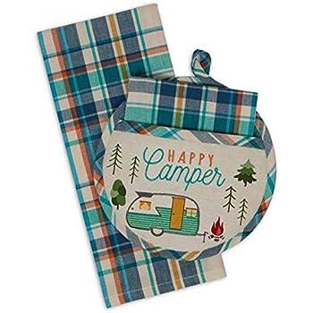 Design Imports DII Potholder Gift Set (Happy Camp)