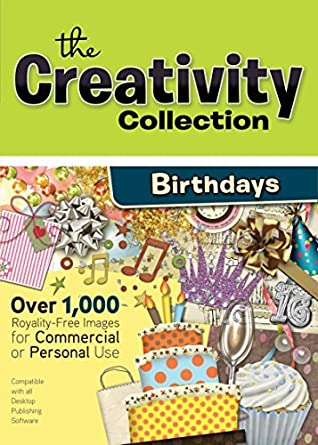 Amazon Com Creativity Collection Birthdays Royalty Free Clipart