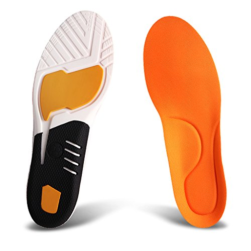 Performance Gel Arch Cushions - Ailaka Athlete Gel Cushion Neutral Arch Sports Shoe Insoles, Performance Running Inserts for Man and Women