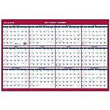 AT-A-GLANCE Wall Calendar 2017, Erasable, Reversible, Vertical/Horizontal, Planner, 36 x 24'' (PM2628)
