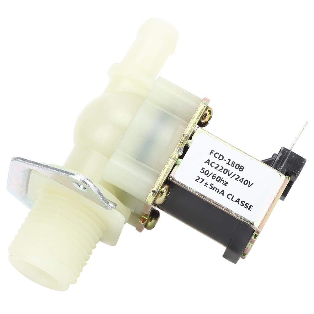 connecteur en plastique haute r/ésistance dentr/ée pour usage domestique /Électrovanne /électrique 1//2 pouce /électrovanne de guidage /à 1 voie adapt/ée /à leau /électrovanne 220 V 0,02-0,8 MPa