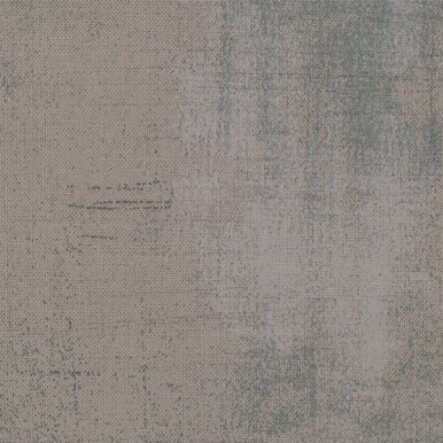 Moda Basic Grey Grunge Cotton Quilt Fabric Grey Couture Style 30150/163