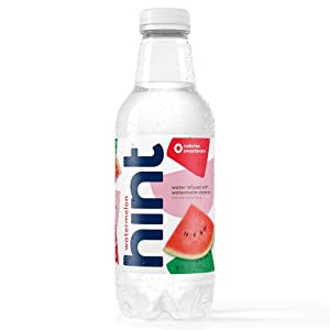 Hint Water Watermelon Bottles 16 Ounce (Pack of 12)Pure Water Infused with Watermelon Zero Sugar Zero Calories Zero Sweeteners Zero Preservatives Zero Artificial Flavors