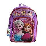 Fast Forward Disney Frozen Anna & Elsa Purple Backpack