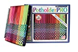 Harrisville Designs 10'' Potholder (PRO Size) Loom Kit, (Packaging may vary)