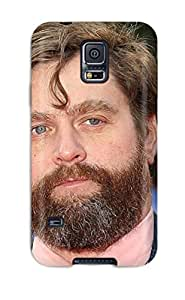Tpu Fashionable Design Zach Galifianakis Rugged Case Cover For Galaxy S5 New