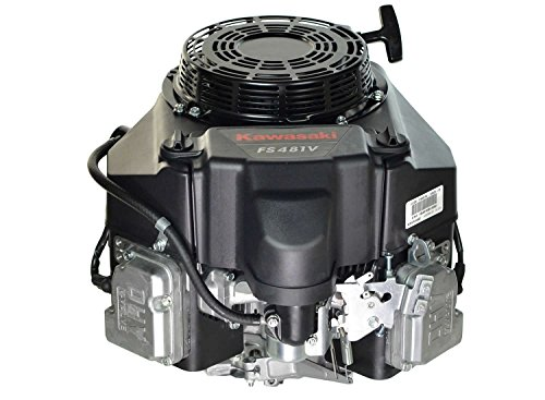 Kawasaki 603cc 14.5HP V-Twin OHV 4-Cycle Vertical Engine, 1-inch x 3-5/32-inch by Kawasaki