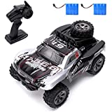 Vinciph RC Car 2.4Ghz High Speed Racing Car 18km/h 1:18 Scale 2WD Control Truck Off-Road Vehicle Buggy Hobby Electronic Toy,Remote Control Car for Kids Two Rechargeable Batteries