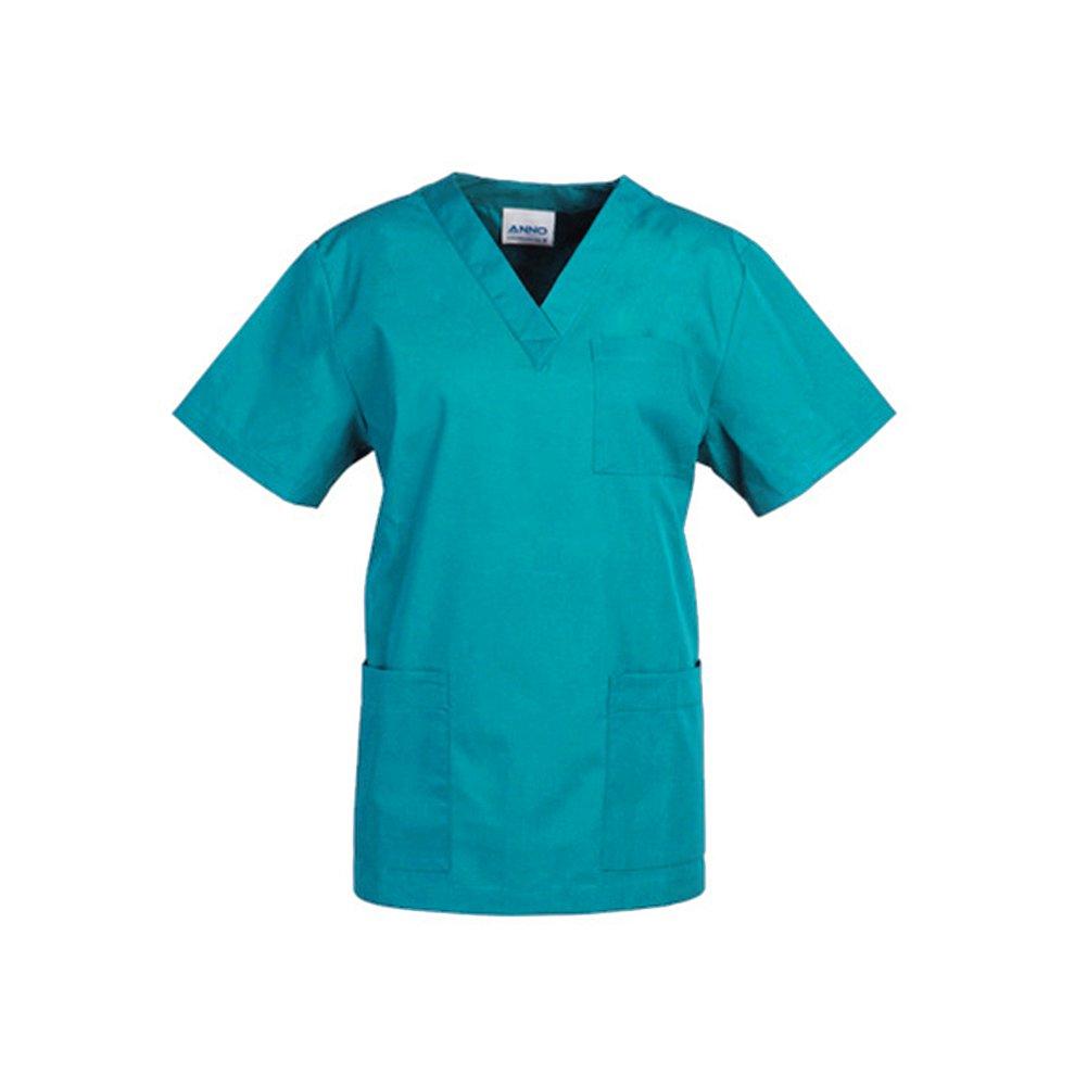 Free Fisher Camisa y Pantalón uniforme médico Unisex Hombres Ropa para Enfermería, Verde XXL: Amazon.es: Ropa y accesorios