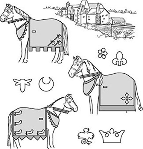 [Suitability 9130 Medieval Horse Costume (With Rump Cover) Equestrian Sewing Pattern (Pattern Only)] (Equus Horse Costume)