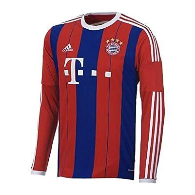 adidas Bayern Munich 2014-15 Offcial Home Soccer Jersey Long Sleeve
