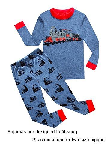 6c96603d3b70 Galleon - IF Pajamas Train Little Boys Long Sleeve Pajama 100 ...