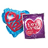 Valentine Wack-A-Pack Assorted Self-Inflating Foil Balloons 4-ct. Packs (Set of 2)