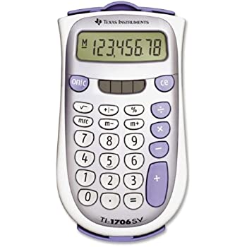Texas Instruments 1706SV/FBL/2L1 Standard Function Calculator