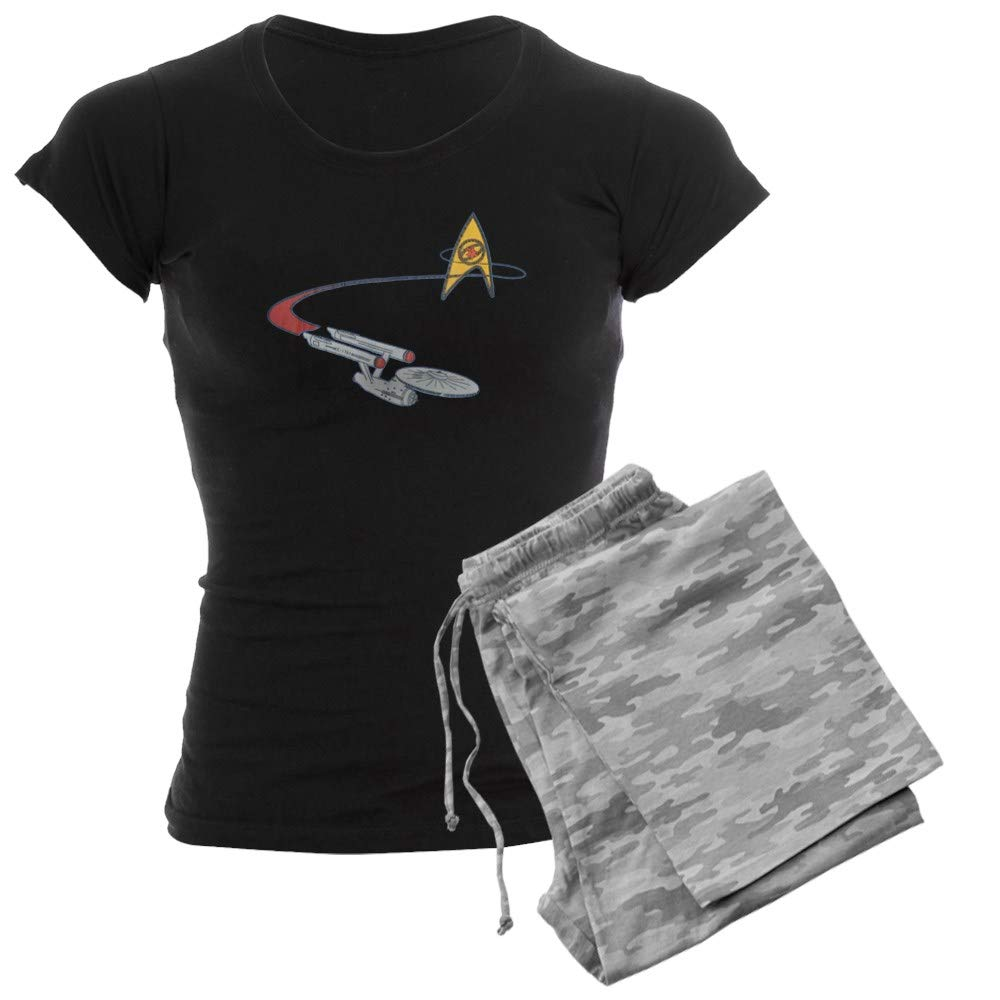 CafePress Vintage Star Trek Womens PJs