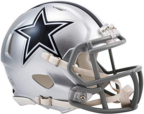 Sports Memorabilia Riddell Dallas Cowboys Revolution Speed Mini Football Helmet - NFL Mini Helmets