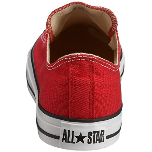 Converse All Star Ox - Zapatillas Unisex adulto Rojo
