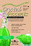 Crystal Accents CA-25E Emerald 1-Ounce Bag