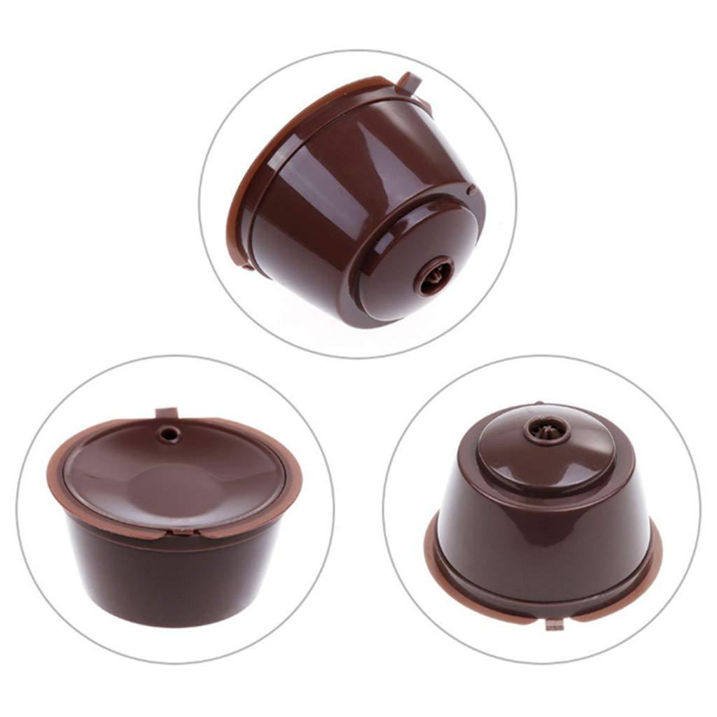 Rusaly 4PCs Cápsulas Filtros de Café para Cafetera Dolce Gusto ...