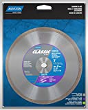 Norton 2788 Diamond Saw Blade 7-Inch Dry or Wet Cutting Continuous Rim Saw Blade with 5/8-Inch or 7/8-Inch Arbor for Tile