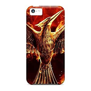 Durable Defender Case For iphone 4/4s iphone 4/4s Tpu Cover(the Hunger Games Mockingjay)