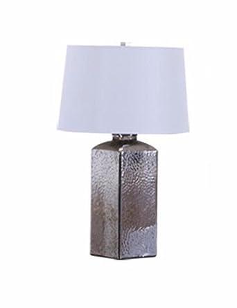 Cjshv Tischlampen American Creative Retro Wohnzimmer Die Großen Glas Lampen  Die Nordischen Minimalistischen Modern Und