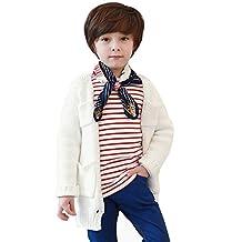 Charberry Baby Long Sleeve Blouses Toddler Infant Kids Boys Girls Stripe Tops T-Shirt
