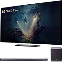 LG B7A Series 55 OLED 4K HDR Smart TV 2017 Model (OLED55B7A) with LG SJ9 Sound Bar 5.1.2ch Hi-Resolution Audio + Dolby Atmos, WiFi & Bluetooth