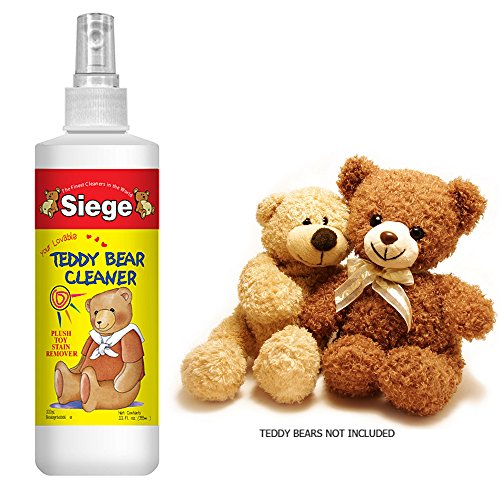 Siege Teddy Bear Cleaner Plush Toy Stain Remover 100% Biodegradable Spray Bottle