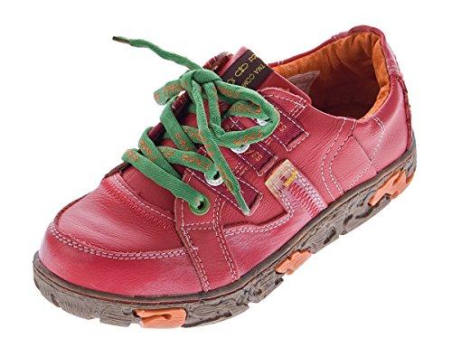 Femme Chaussures Tma Coupe Classique Et Lacets Rouge À Yz7Fp7nvx