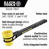 KLEIN TOOLS Lineman's Ratcheting Wrench