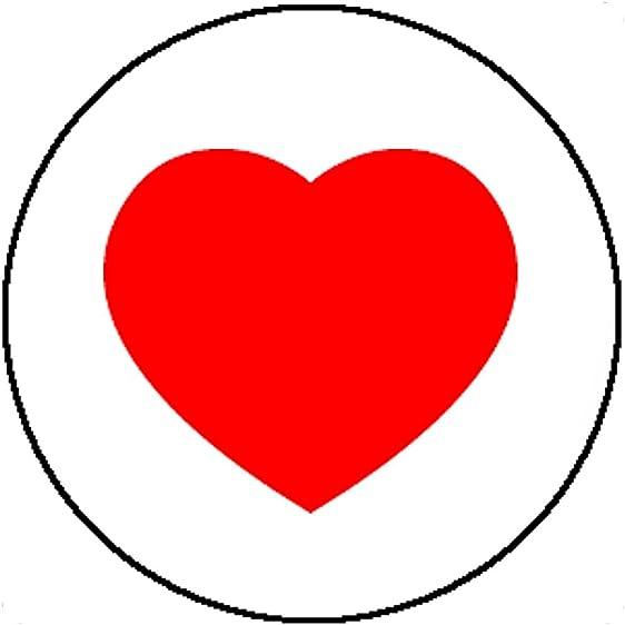Amazon Badge Button Love Heart Loveheart Shape Symbol Cute Gift