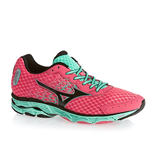 Mizuno Wave Inspire 11, Running Femme Rouge Red / Black / Florida Keys